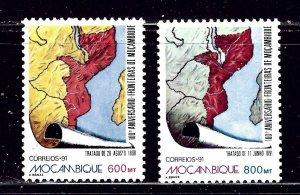 Mozambique 1159-60 MNH 1991 set    (ap2241)