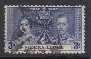 SIERRA LEONE, Scott 172, used