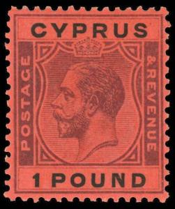 Cyprus Scott 110 Gibbons 102 Mint Stamp