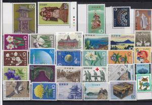 Japan mint never hinged Stamps Ref 14362