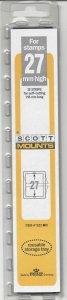 SCOTT MOUNT 923B, 27 MM X 215 MM, NEW & UNOPENED, RETAIL $7.99