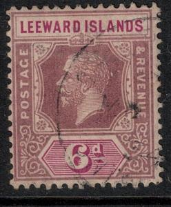 Leeward Islands 1923 SC 75 Used Stamp SCV $50.00