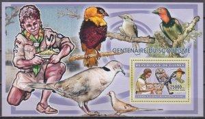2006 Guinea 4371/B1029 Scouts / Glaucidlum perfatum 7,00 €