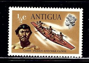 Antigua 241-57 MNH 1970 definitive set