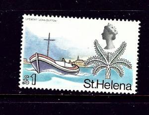 St Helena 223 MNH 1968 Lifeboat John Dutton