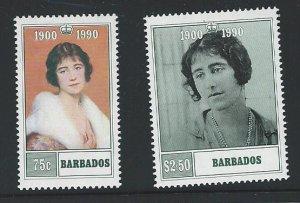 Barbados   mnh   s.c.# 782-783