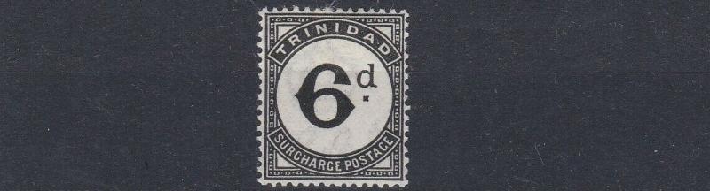 TRINIDAD & TOBAGO  1945   S G D23  6D  BLACK    POSTAGE DUE  MH  CAT £75