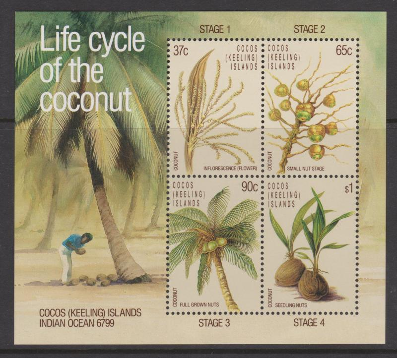 Cocos Keeling Islands Sc#176a MNH