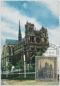 30191 -  San Marino - POSTAL HISTORY - MAXIMUM CARD Architecture  1967 Cathedral