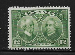 CANADA,147, MINT HINGED,THIN, LAURIER AND MACDONALD
