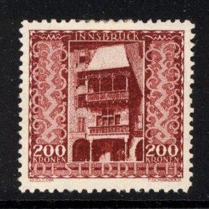 Austria 1923  Scott #B61 MLH