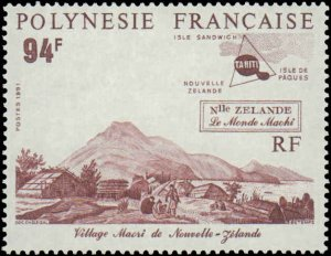 1991 French Polynesia #560-562, Complete Set(3), Never Hinged