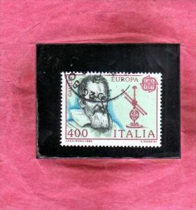 ITALIA REPUBBLICA ITALY REPUBLIC 1983 EUROPA CEPT UNITA GALILEO GALILEI LIRE ...