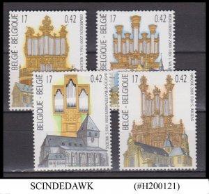 BELGIUM - 2000 CHURCHES / ARCHITECTURE  4V- MINT NH