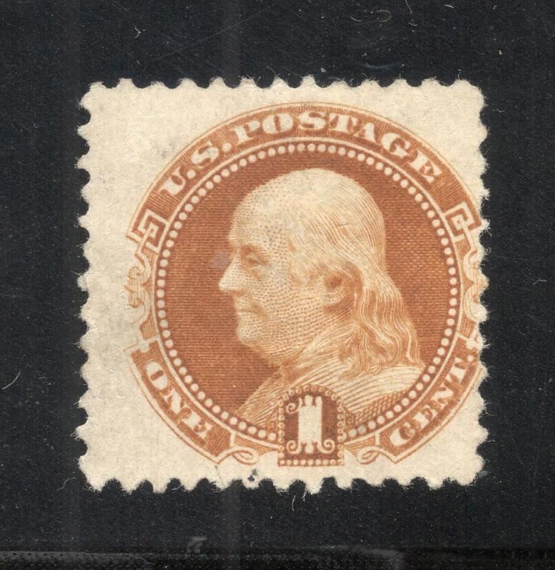 US#133a Brown Orange - Unused - N.G.A.I.