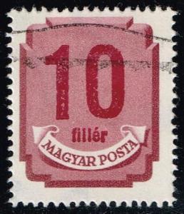 Hungary #J194B Postage Due; Used (0.25)