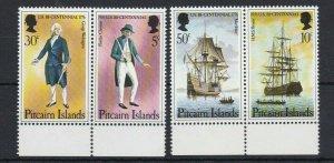 PN98) Pitcairn Islands 1976 US Bicentennial MUH