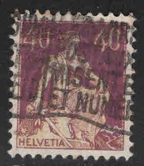 Switzerland Scott 136 used  stamp
