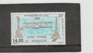 St. Pierre & Miquelon  Scott#  C74  MH/HR  (1997 Disappearance of Flight)