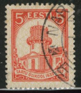 Estonia Scott 108 used from 1932 set
