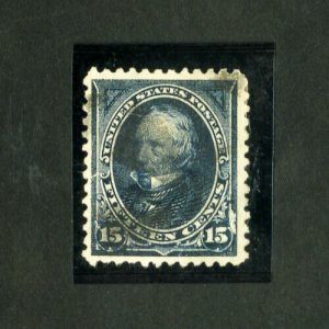 US Stamps # 259 VF Used Scott Value $65.00