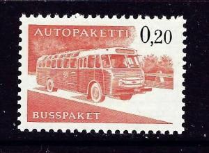 Finland Q11 MNH 1963 Mail Bus