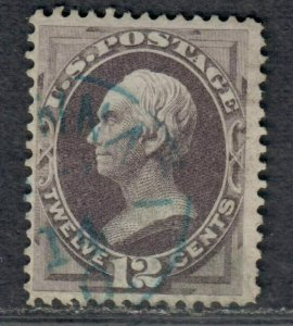 $US Sc#151 used, F-VF, nice blue CDS, no faults, Cv. $225