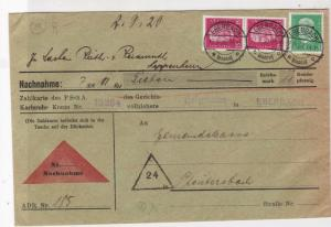 germany 1930 stamps cover ref 18923