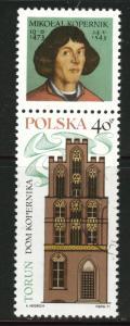 Poland Scott 1818 Used  1971 Copernicus CTO stam