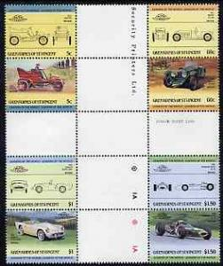 St Vincent - Grenadines 1985 Cars #2 (Leaders of the Worl...