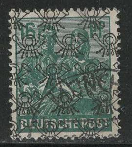 Germany AM Post Scott # 623, used