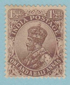 INDIA  102 MINT HINGED OG *  NO FAULTS VERY FINE !