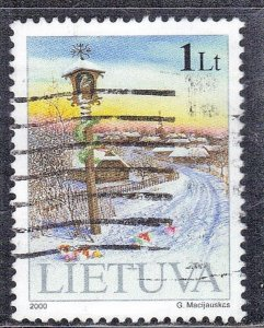 LITHUANIA  SC #680 **USED** 2000   1lt  SEE SCAN