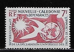 New Caledonia 306 Human Right single MNH