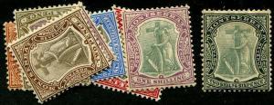 HERRICKSTAMP MONTSERRAT Sc.# 22-30 Mint Hinged Scott Retail $180.00
