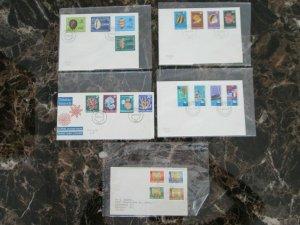 Lot of 6 Covers Postal History Tokelau Island
