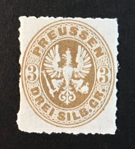 Prussia Sc. #20 mint never hinged