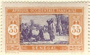 French Senegal (Scott #97) Mint F-VF...A piece of exotic History!