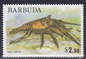 Barbuda # 185, Spiny Lobster, NH, Third Cat.