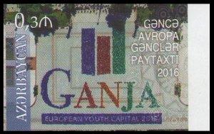2017 Azerbaijan 1185KL Ganja - European Youth Capital (edition 200)