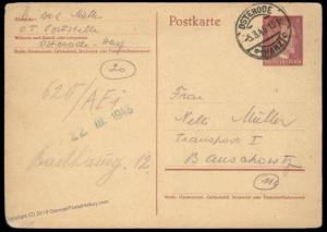 3rd Reich Germany 1945 V2 Concentration Camp Dora Mixed Race HAGIBOR Cover 89544