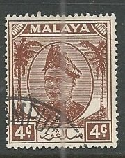 Malya - Selangor || Scott # 83 - Used ©