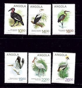 Angola 683-88 MNH 1984 Birds