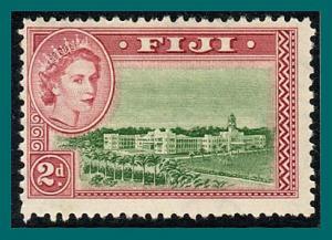 Fiji 1954 Government Buildings, 2d MNH  #150,SG283