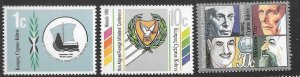 CYPRUS SG726/28 1988 NON-ALIGNED FOREIGN MINISTERS CONFERENCE MNH