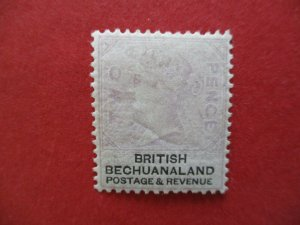 SG11 Victorian British Bechuanaland Protectorate 1888 2d Lilac & Black MM