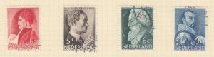 NETHERLANDS, 1935 Social Relief Fund, set of 4, used.