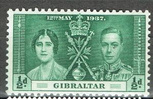 Gibraltar SC# 104 *Mint LH*