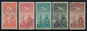 Denmark #C6-10  CV $46.90