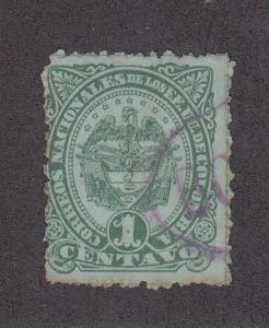 Colombia Scott #116 Used